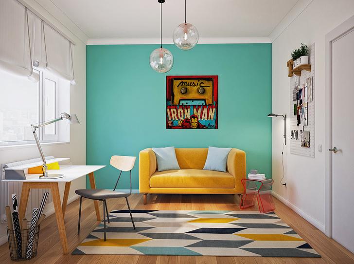 Фото №1 - Бабушкина квартира, или Правила дизайна интерьера в стиле Mid-century