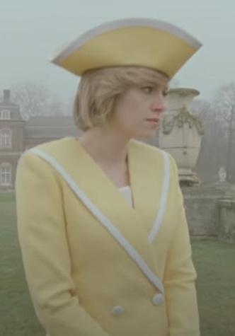 Фото №8 - Оригинал и копия: культовые наряды принцессы Дианы, которые повторили в кино