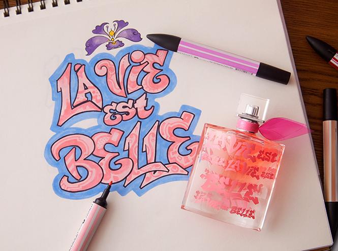 Фото №8 - «Первая леди граффити»: художница Lady Pink – о красоте, феминизме 80-х и коллаборации с Lancôme