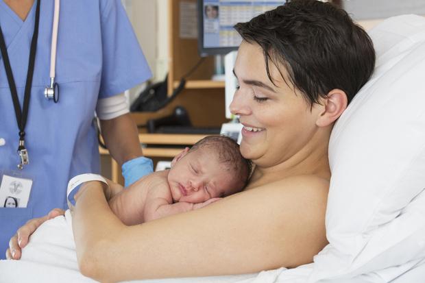 Фото №4 - Как меняется младенец в первые сутки после родов