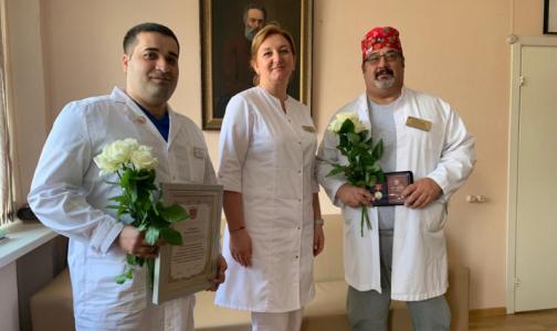 Фото №1 - Смольный вручил награды ко Дню медицинского работника, четверым врачам – посмертно