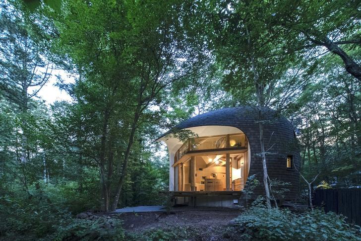 Фото №1 - Летний дом в японском лесу