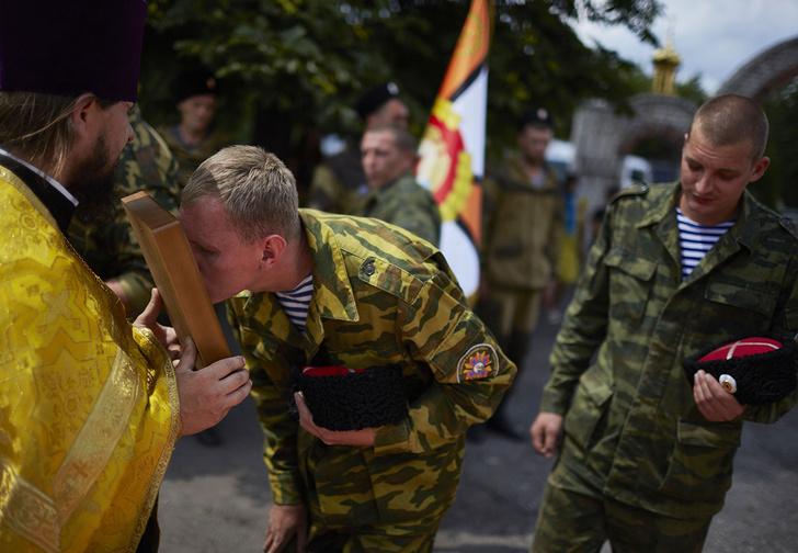 Фото №1 - В Екатеринбурге казаки вышли на борьбу с коронавирусом