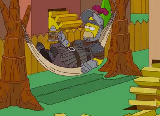 Фото №10 - 15 самых крутых пародий в «Симпсонах»