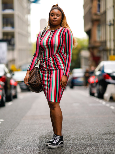 Фото №3 - Как одеваться полной женщине маленького роста