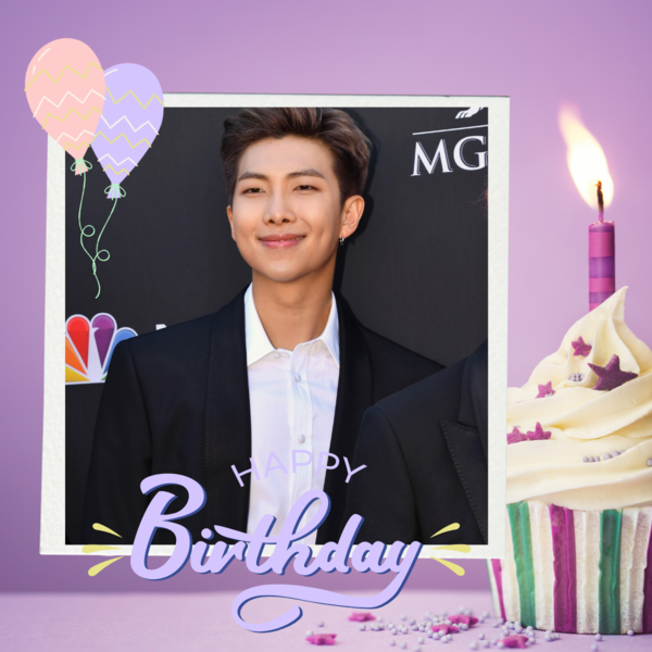 Фото №1 - Как СНГ ARMY отметили День рождения RM из BTS