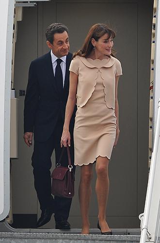 Фото №27 - Первые леди Франции: от Ивонны де Голль до Карлы Бруни-Саркози