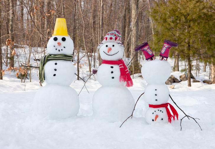 Фото №1 - Математики раскрыли секреты идеального снеговика