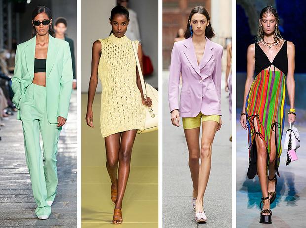 Тренды весны и лета 2021 с Недели моды в Милане | Marie Claire