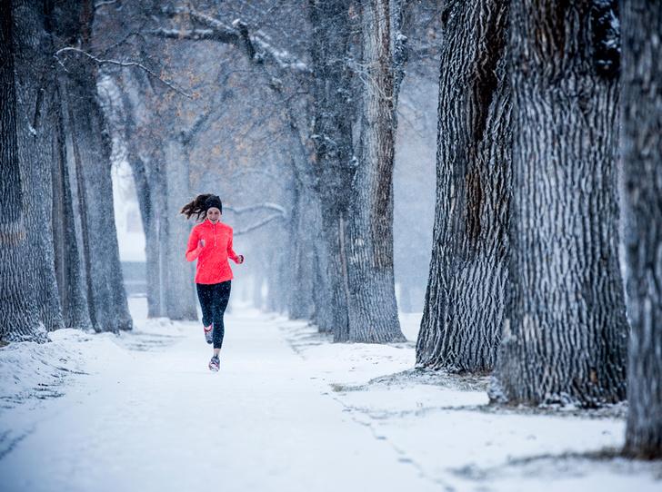 Фото №1 - Почему я бегаю зимой