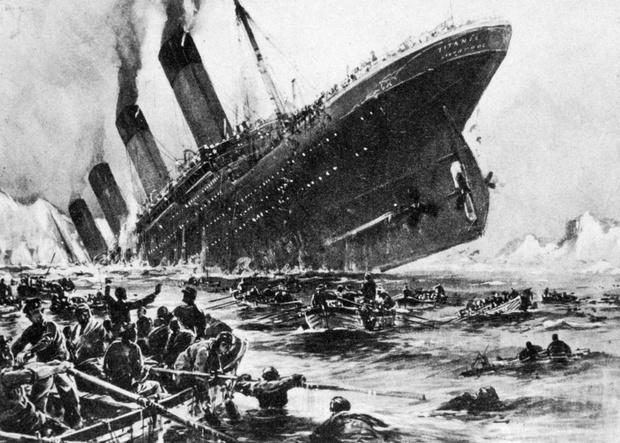 Фото №1 - Выжившие в трагедии Титаника рассказывают, как все это было