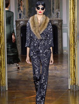 Фото №20 - Неделя Высокой моды в Париже: Ulyana Sergeenko Couture F2015