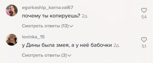 Фото №2 - Упс: Катю Адушкину обвинили в копировании Дины Саевой