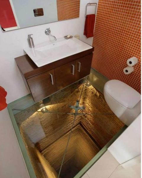 Фото №2 - Как выглядит самая страшная ванная в мире: фото