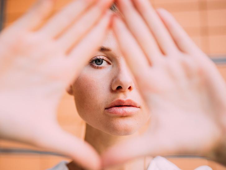 Фото №2 - Особая зона: что такое «треугольник молодости», и как он влияет на старение лица