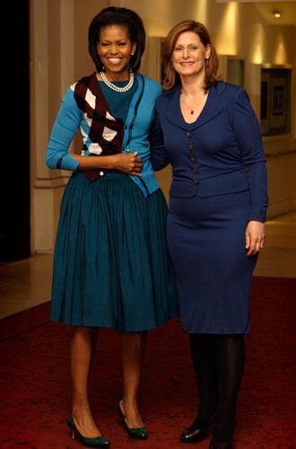 Фото №6 - От супруги президента к модной иконе: эволюция стиля Мишель Обамы