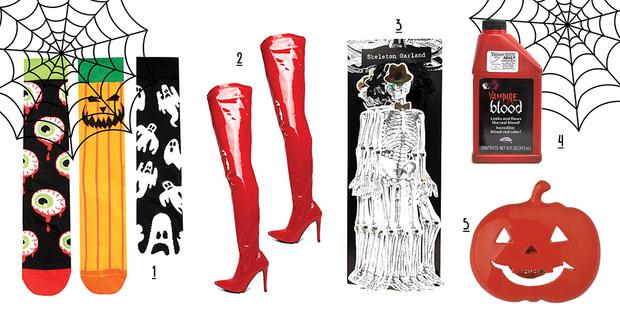 Фото №1 - 10 аксессуаров для Хэллоуина