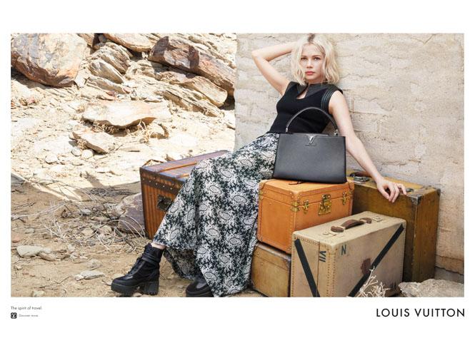 Фото №3 - Дух путешествий: Мишель Уильямс в рекламе Louis Vuitton