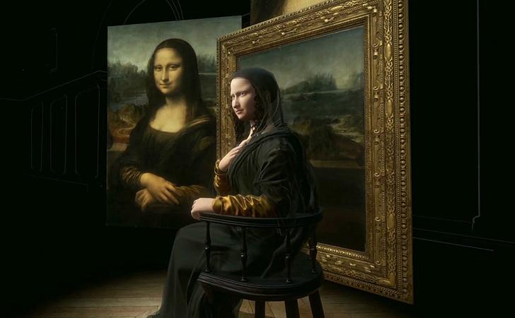 Фото №1 - В Лувре появилась 3D-копия Моны Лизы