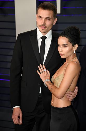 Фото №8 - Самые стильные звездные пары на вечеринке Vanity Fair-2019