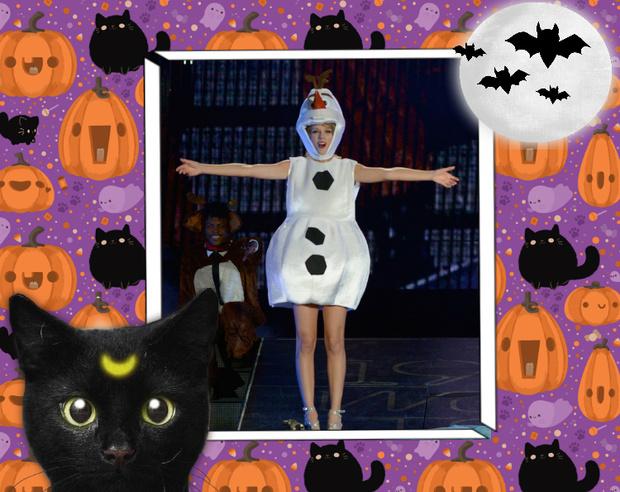 Фото №16 - Лучшие костюмы звезд с прошедшего Хэллоуина