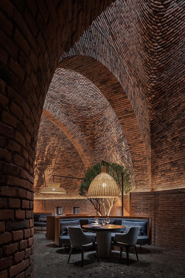 Фото №4 - Ресторан в форме термитника в Китае