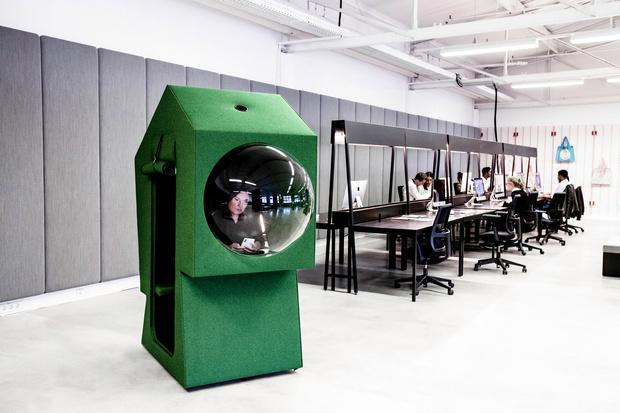 Фото №7 - Яркий офис-трансформер в Берлине