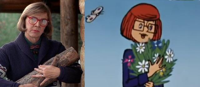 Фото №1 - В Интернете заметили сходство «Простоквашино» и «Твин Пикс» (сравнительная галерея)