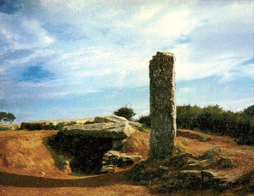 Фото №1 - Менгир — длинный камень