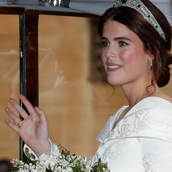 Фото №12 - Настоящая принцесса: свадебный образ Евгении Йоркской