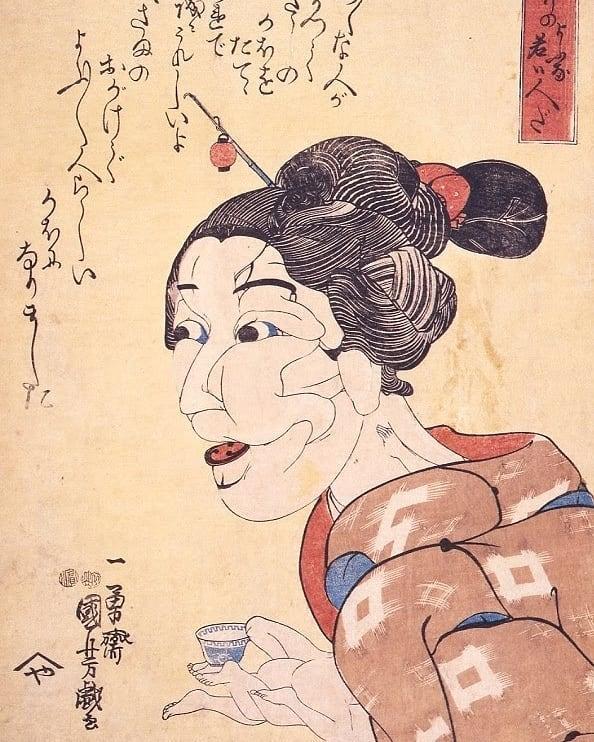 Фото №4 - Удивительные секс-традиции Древней Японии