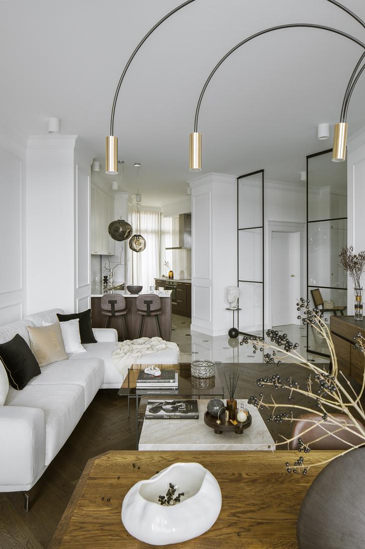 Фото №1 - Квартира с парижской атмосферой в Варшаве