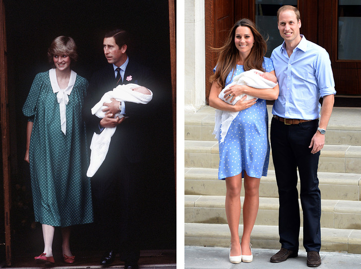 Фото №5 - Материнские инстинкты: в чем Кейт Миддлтон копирует принцессу Диану