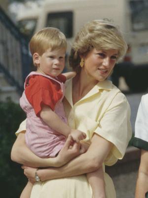 Фото №2 - Любовь матери: почему у Дианы была более сильная связь с Гарри (но не с Уильямом)
