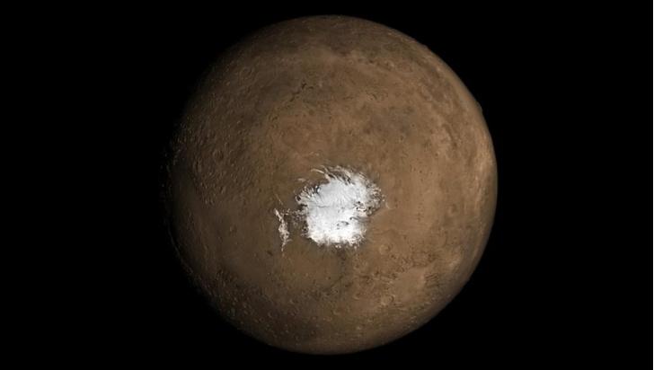 Фото №1 - На Марсе обнаружили следы вулканической активности