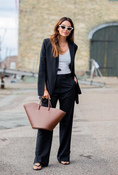 Фото №4 - С чем носить черный пиджак: 8 нескучных идей