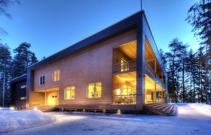 Фото №2 - Финский уют: дома из бруса Lumi Polar