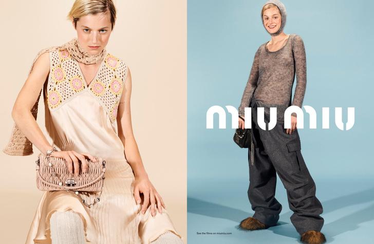 Фото №2 - Сила в красоте: Эмма Коррин в рекламной кампании Miu Miu