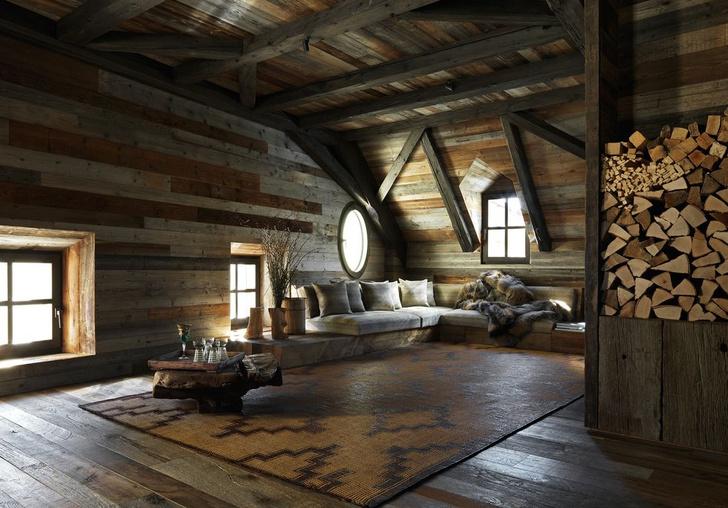Фото №3 - Уютное деревянное шале в Альпах