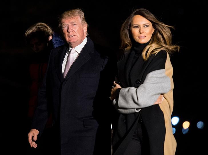 Фото №1 - Развод Трампов: что получит Мелания, если решит покинуть Белый дом (и президента)