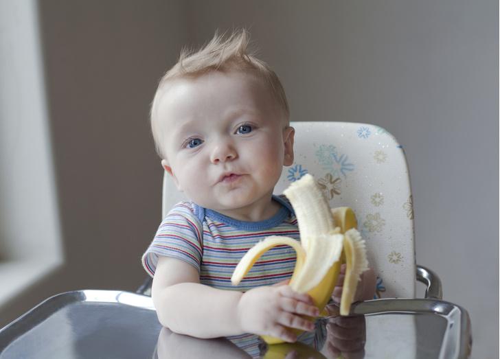 когда ребенку можно давать банан