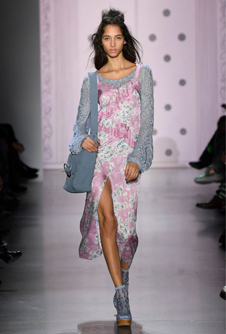 Anna Sui весна/лето 2020