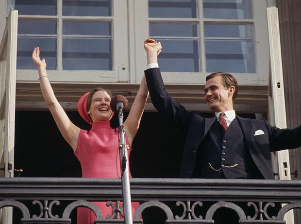 Фото №7 - Принц Хенрик и Королева Маргрете: история любви в фотографиях