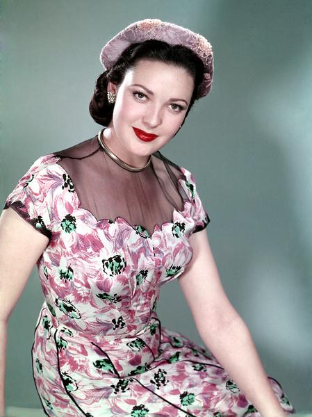 Линда Дарнелл, 1950 год.