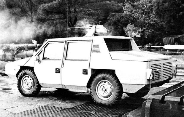 Фото №4 - Горгона: суперкар среди броневиков