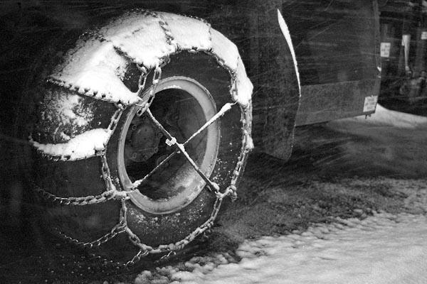 Фото №1 - Зима под колёсами