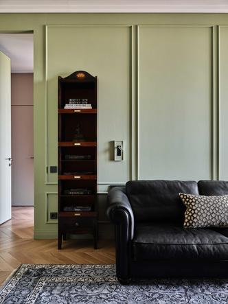 Фото №10 - «Манхэттенская» квартира с винтажной мебелью 136 м²