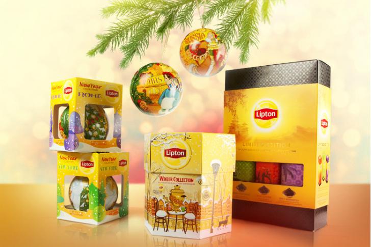 Фото №1 - Lipton создает новогоднее настроение