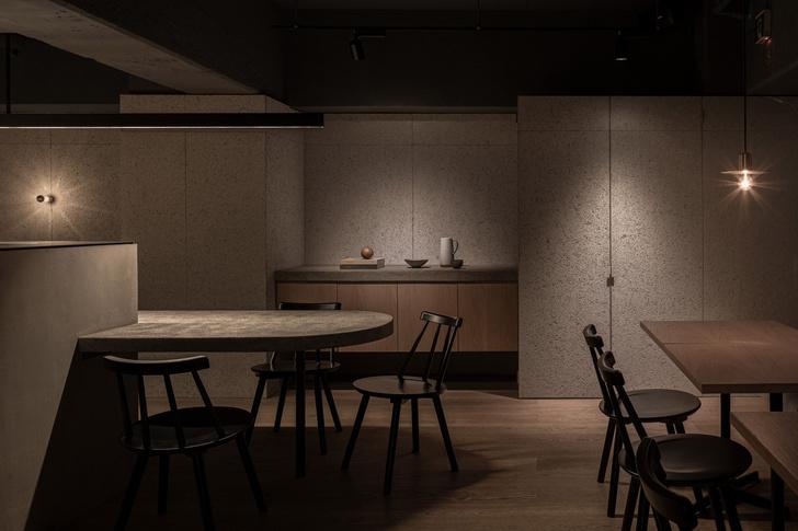 Фото №1 - Минималистский ресторан Grillno в Токио