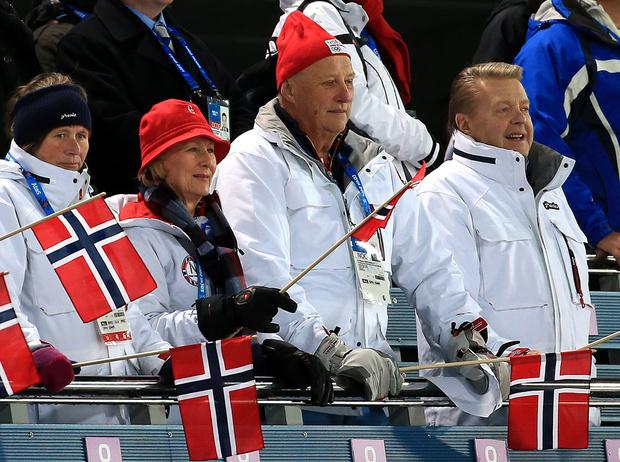 Фото №21 - Спортсмены голубых кровей: короли, принцы и принцессы на Олимпийских играх разных лет